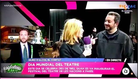 A Punt directe visita Mediterranean Acting en el día mundial del teatro