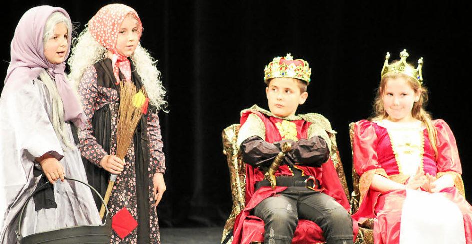 Los niños revolucionan una clase de teatro